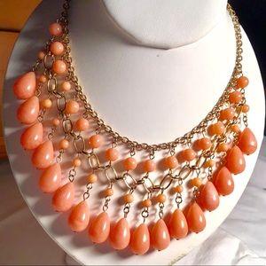 Jewelry - Peachy Statement Necklace